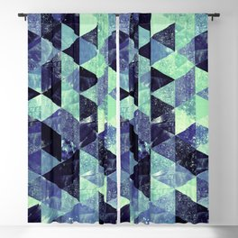 Abstract Geometric Background #6 Blackout Curtain