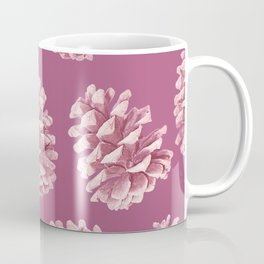 Blushing Deep Pine Cones Coffee Mug