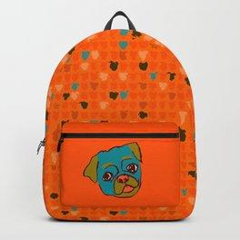 Pickle- turquise/orange Backpack