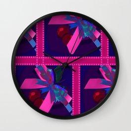 Box of Cherries Wall Clock