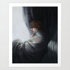 Blade of grass II Art Print