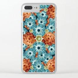 Spore galore Clear iPhone Case