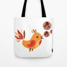 Talking Bird Tote Bag