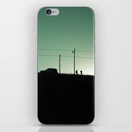 I am going to see mountain with you. iPhone Skin