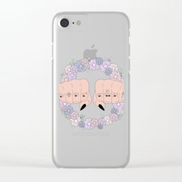 Girl Power 2018 Clear iPhone Case