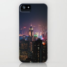 Hong Kong Lights iPhone Case
