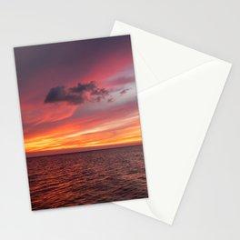 Holbox Sunset Stationery Cards
