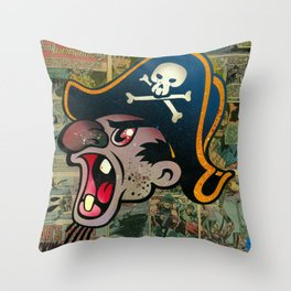 F!ck Beard Throw Pillow