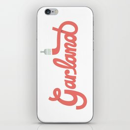 Garland Logo iPhone Skin
