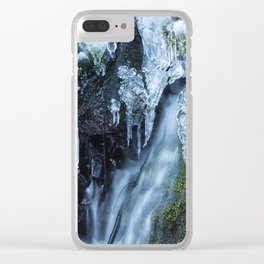Ice and Water, No. 2 Clear iPhone Case