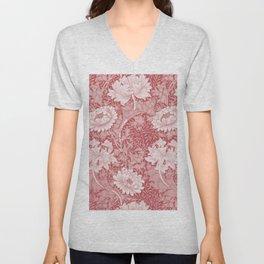 """William Morris """"Chrysanthemum"""" 4. Unisex V-Neck"""