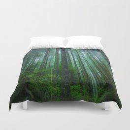 Misty Mountain Forest Duvet Cover