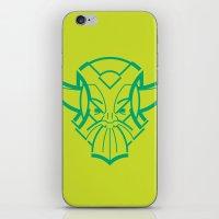 viking iPhone & iPod Skins featuring Viking by Martin Laksman