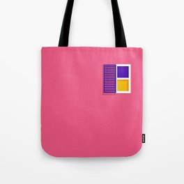 Unshuttered Window Tote Bag