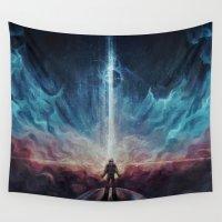 interstellar Wall Tapestries featuring Interstellar by jasric