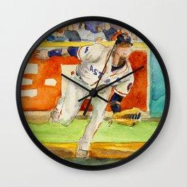 Yulieski Gurriel - Astros First Baseman Wall Clock