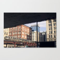 Chicago in the A.M. Canvas Print