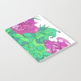 Abstract Floral #3 Notebook