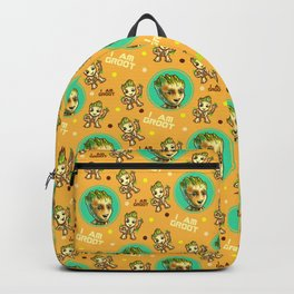 Guardians of the Galaxy Baby pattern Backpack