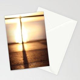 Bokeh Sunset Stationery Cards