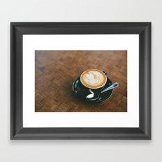 Macchiato  Framed Art Print