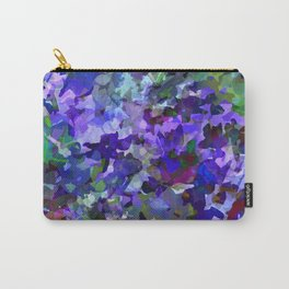 Deep Violet Woods Carry-All Pouch