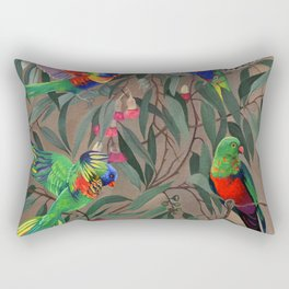 Birds of Paradise. Rectangular Pillow