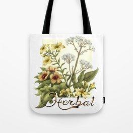 Herbal Tote Bag