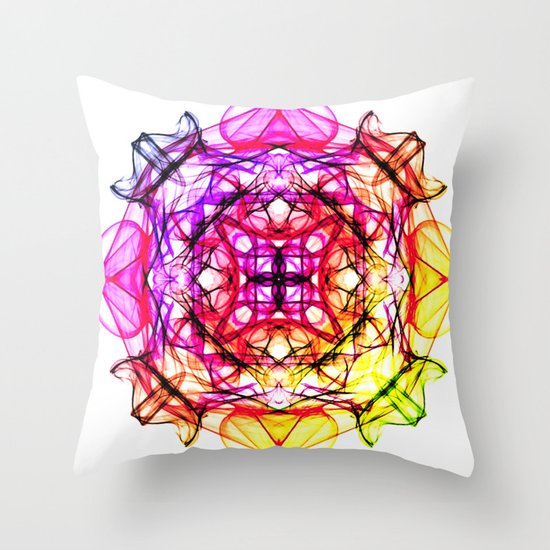MANDALA ZINE II Throw Pillow