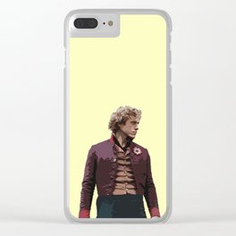 Enjolras Clear iPhone Case