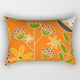 Sunny floral decor Rectangular Pillow