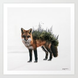 grow into nature Art Print