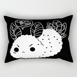Angry Sea Slug Bunny Rectangular Pillow