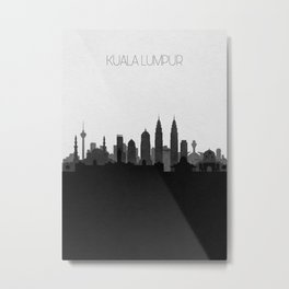 City Skylines: Kuala Lumpur Metal Print