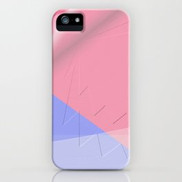 Pattern colors 2016 rose quarz and serenity blue Version 4 iPhone Case