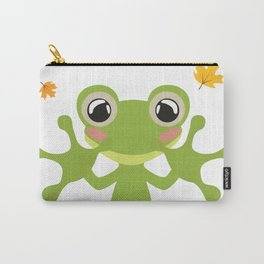 Little Frog Happy Autunm - Fall Begins Carry-All Pouch