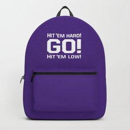 Hit'em hard! Go! Backpack