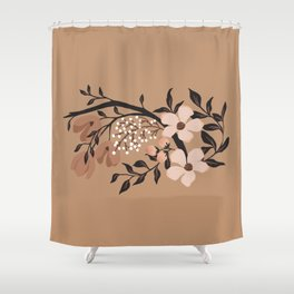 Nude Flowers Shower Curtain