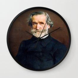 Giuseppe Verdi (1813 – 1901) by Giovanni Boldini (1842 - 1931) Wall Clock