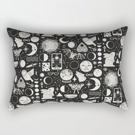 Lunar Pattern: Eclipse Rectangular Pillow