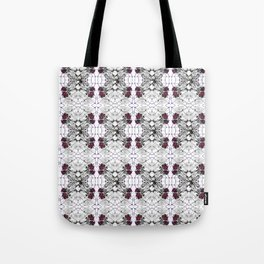 Roses Black Widow Tote Bag