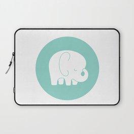 Mod Baby Elephant Teal Laptop Sleeve