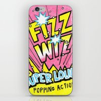 wiz khalifa iPhone & iPod Skins featuring Fizz Wiz! by Love Paint UK