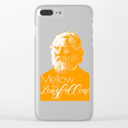 Mellow like Longfellow Clear iPhone Case
