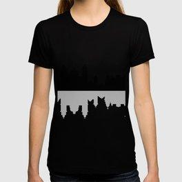 skyline of rio de janeiro T-shirt