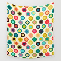 ivory pop spot Wall Tapestry