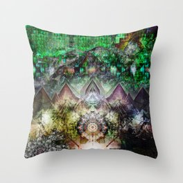 Lands Throw Pillow