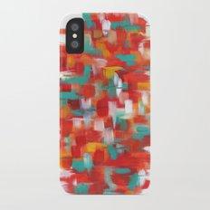 Fire iPhone X Slim Case