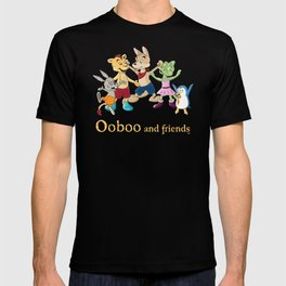 Ooboo and friends - Everyone T-shirt