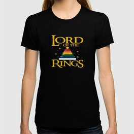 Baby Lord Rings Mum Dad Kids Fantasy Parents Gift T-shirt